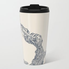 'Inheritance' (3 of 6). Original ink drawings re-coloured in Photoshop. (Other colourways available) Metal Travel Mug