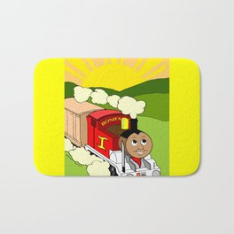 Bonifacio The Train Bath Mat