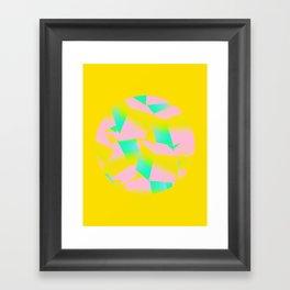 I did it Framed Art Print