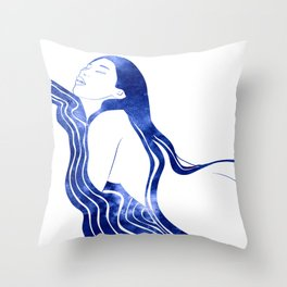 Nereid XXVII Throw Pillow