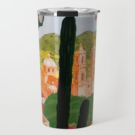 Vintage Tasco Mexico Travel Travel Mug