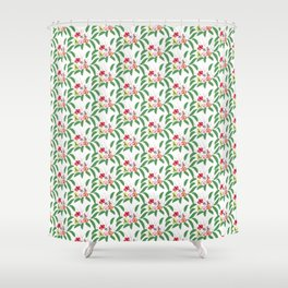 Orchid pattern 4 Shower Curtain