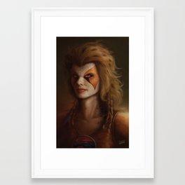 ThunderCats Collection - Cheetara Framed Art Print