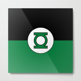 Green Lantern - Superhero Metal Print