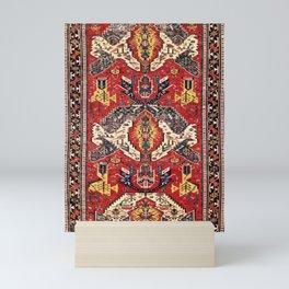 Dragon Sumakh Antique East Caucasus Kuba Rug Print Mini Art Print