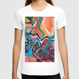 in orbit T-shirt