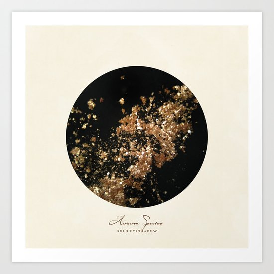 Solid Gold! Art Print