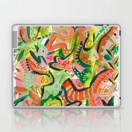 Acrylic Painting - Abstract 4 Laptop & iPad Skin