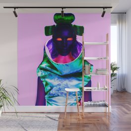 CyberGeisha X Wall Mural