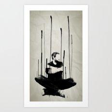 descending Art Print