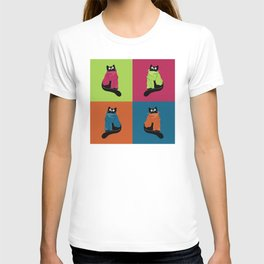 cats in scarves T-shirt