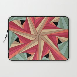 Geometric Mandala / Nothing happens by chance Laptop Sleeve