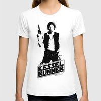 han solo T-shirts featuring Han Solo-Kessel Runner by IIIIHiveIIII