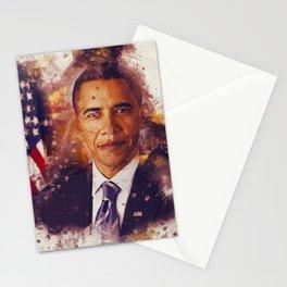 Obama Splashes Stationery Cards