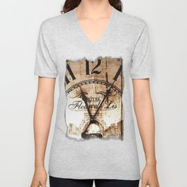 Vintage Paris Unisex V-Neck