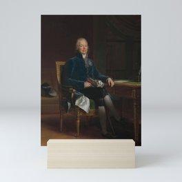François Gerard - Charles Maurice de Talleyrand Perigord (1754–1838), Prince de Benevent Mini Art Print