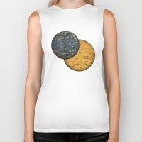 sun and moon Biker Tanks featuring Sun &  Moon by Jonathan Knight