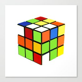 Rubik Canvas Print