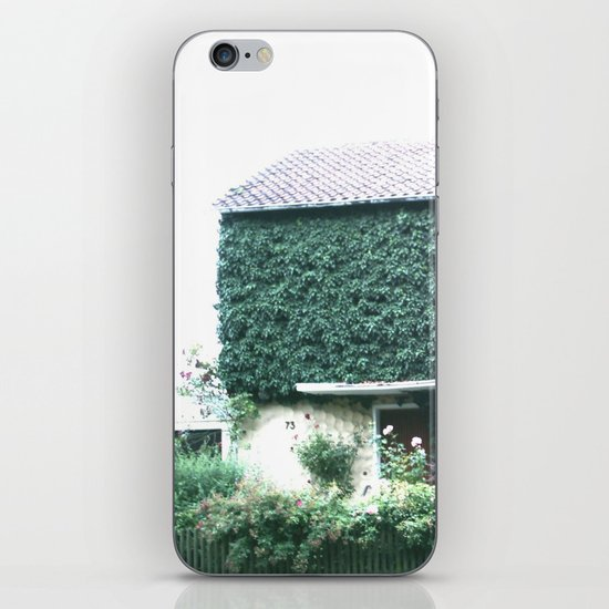 Wine maker house iPhone & iPod Skin