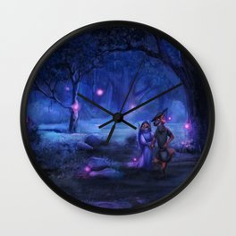 Love Goes On and On Wall Clock