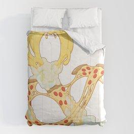 Pizza & Beer Comforters
