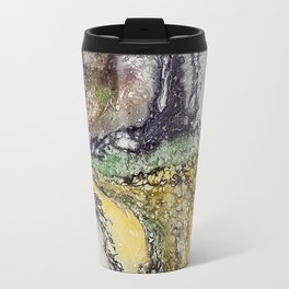 Weather cyclone, acrylic on canvas Travel Mug