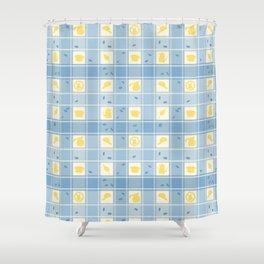 Meet you at Luke's Pattern Print Shower Curtain