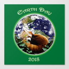 Earth Day 2018 Canvas Print