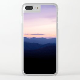 Sunrise Over the Smokys Clear iPhone Case