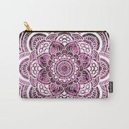 Mandala Mauve Colorburst Carry-All Pouch