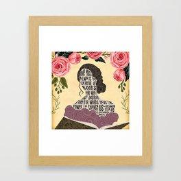 Clockwork Angel - Tessa Gray Framed Art Print
