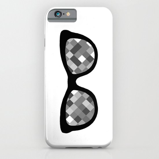 Diamond Eyes Black and White iPhone & iPod Case
