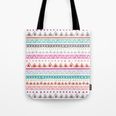 Half Full Stripe Tote Bag