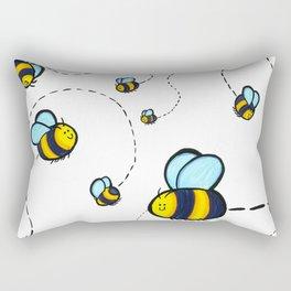 Bumble Pattern Rectangular Pillow