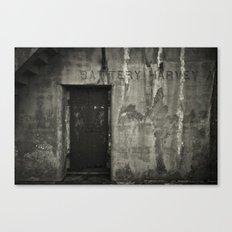 Battery Canvas Print