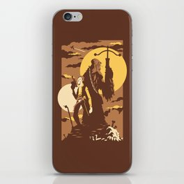 The Scoundrel & The Wookie iPhone Skin