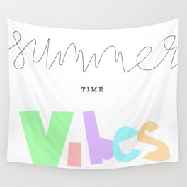 summer time vibes Wall Tapestry