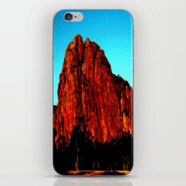 The red Rock iPhone Skin