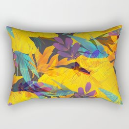 Tropical Leaves 11 Rectangular Pillow