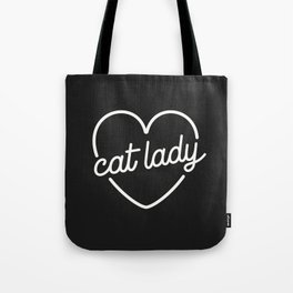 79a9b46e3deb Cat Lady - Charcoal Gray Tote Bag
