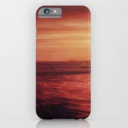 Setting Sun - Landscape Series iPhone Case