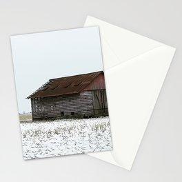 Light slats Stationery Cards