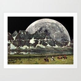 Mountains of Montanya Art Print