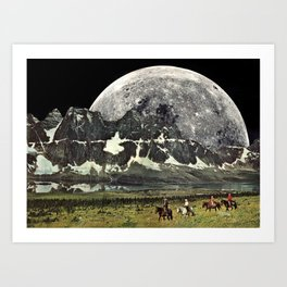 Mountains of Montanya Art Print
