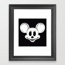 DEADMOUSE Framed Art Print