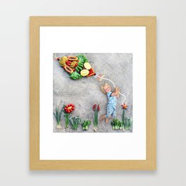 Magic Kite Framed Art Print