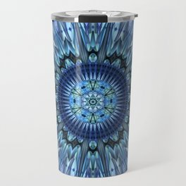Brilliant invention to cool dear Earth - Abstract illustration Travel Mug