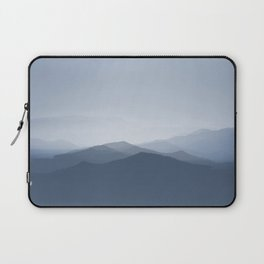 hazy morning blues Laptop Sleeve