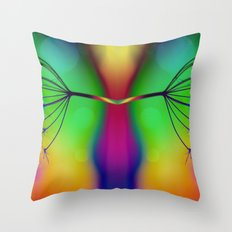 Butterfly... You My Friend, Are A Victim Of Disorganised Thinking... Throw Pillow