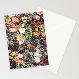 Fall Floral Stationery Cards